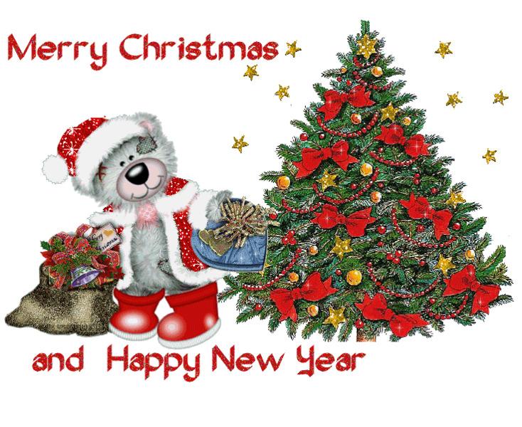 Поздравляем с Новым годом и Рождеством на английском языке
